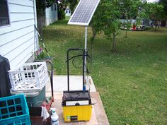 backup power with solar charger