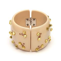 """Goccia"" Cuff Bracelet with Swarovskii rocks  