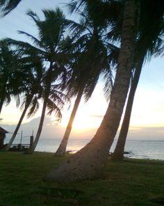 pôr-do-sol na praia do murubira