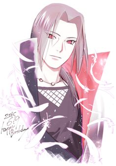 HAPPY B, ITACHI-SAN. <3 #uchiha #itachi