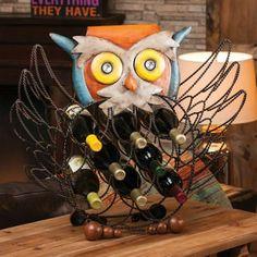 Owl Wine Rack