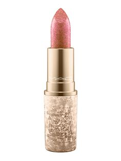 MAC's Snowball Collection Will Kick-Start Your Holiday Countdown - MAC Snowball Lipstick In Shimmer And Spice from InStyle.com