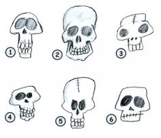 how to draw skulls, drawing skulls, skull, skulls, skull sshopping