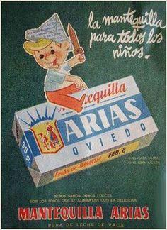 Anuncio de 1950 de MANTEQUILLA ARIAS