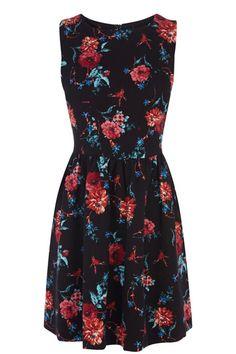 Tapestry Print Dress Oasis £25