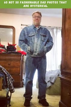 65 Not So Fashionable Dad Photos That Are Hysterical #fashion #dad #photos #hysterical Denim Button Up, Button Up Shirts, Funny Today, Trending Today, Magic Tricks, Old Dogs, Amazing Nature, Photo S, Cute Dogs