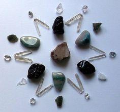Starseeds Crystal Grid/Mandala Stellar by akashaspiritcrystals, £45.00