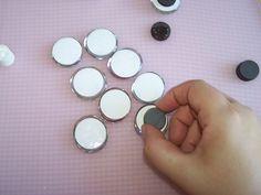 Placing magnet
