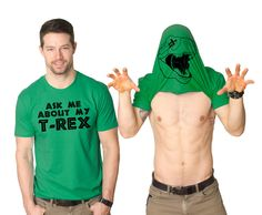 Ask Me About My Trex | Trex flip t shirt