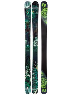 181 Salomon Q 85 Skis 201415 with Salomon Z12 Bindings