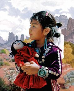 navaho dolls | ... Portfolio | Portraits of Navajo, Zuni, Hopi and Mexican People