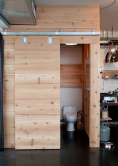 Name: Greg Hennes & Grey Helvey Location: South East — Portland, Oregon… Upstairs Bathrooms, Loft Bathroom, Bathroom Laundry, Basement Bathroom, Bathroom Ideas, Narrowboat Interiors, Garage Remodel, Loft House, Garage Apartments