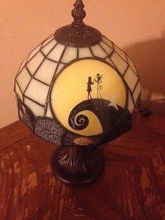 Nightmare Before Christmas Tiffany Lamp Rare & Limited Edition Collectibles