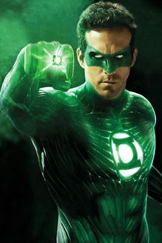 Ryan Reynolds as the Green Lantern