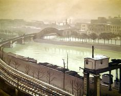 The River Seine at Grenelle, 1922 (oil on canvas), Marquet, Albert (1875-1947)