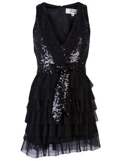 Sequined Tiered Dress <3