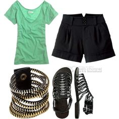 cute summer outfit when you need to be a bit dressy