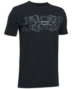 Under Armour Charged Cotton Graphic-Print T-Shirt, Big Boys Camisa Polo, New T Shirt Design, Shirt Designs, Athletic Outfits, Sport Outfits, Under Armour Outfits, Big Boys, Graphic Tees, Tee Shirts