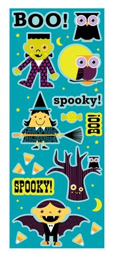 Halloween Scrap Book Line - design - work - tad carpenter