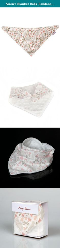 Airen's Blanket Baby Bandana Bib Pink Rabbit in Wonderland. These Scarf Bibs (Bandana Bibs) of Airen's Blanket are fashionable, ultra soft and keeping babies' neck warm. These are convenient to wear and easy control the neck size with 2 snap buttons. Front side design is cute, stylish and back side velboa is ultra soft. If boys and girls go out with these scarf bibs, they may catch people's eyes. This stylish scarf bibs are good gifts for baby showers or boys and girls. Especially, the...