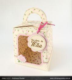 Imagem relacionada Lunch Box, Container, Scrap, Mother's Day, Tat, Bento Box