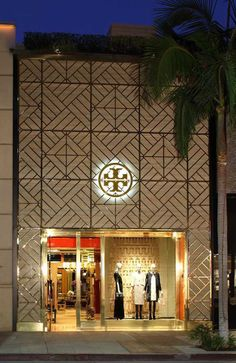 Tory Burch on Rodeo Drive in Beverly Hills.