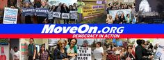 MoveOn is a community of more than 8 million Americans from all walks of life who use innovative technology to lead, participate in, and win campaigns for progressive change.