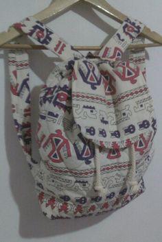 My DIY backpack- niablanco