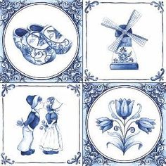 Netherlands clipart windmill - pin to your gallery. Explore what was found for the netherlands clipart windmill Delft Tiles, Blue Tiles, Blue And White China, Love Blue, Dutch Tattoo, Tulip Tattoo, Decoupage Paper, Napkin Decoupage, Marianne Design