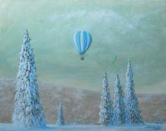 paweł widera /podróż/ original paintings art acrylic