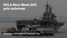 NOLA Navy Week 2015 warships arrive in Crescent City Thursday   NOLA.com
