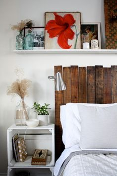 DIY Tutorial: DIY home crafts  / DIY pallet headboard - Bead&Cord