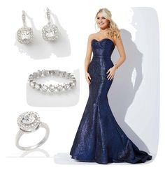 Created by floverastyles by dianavflood on Polyvore featuring polyvore, fashion, style, Touchstone Crystal and clothing
