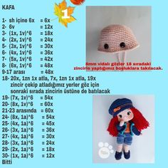 Hi all our coffee house is the last recipe of the efficacy of zeynep bebe coffee efficacy house recipe zeynep – Artofit – BuzzTMZ Crochet Doll Pattern, Crochet Patterns Amigurumi, Amigurumi Doll, Crochet Dolls, Crochet Baby, Free Crochet, Doll Clothes Patterns, Doll Patterns, Diy Crafts Images