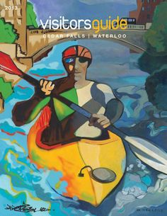 2013 Visitors Guide Cover / Artwork by Paco Rosic & Gary Kelley