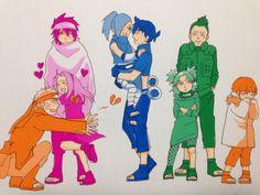 .Naruto x Hinata, Sasuke x Sakura, Sai x Ino, Shikamaru x Temari