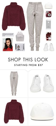 """""""Untitled #1011"""" by theonlynewgirl ❤ liked on Polyvore featuring Topshop, adidas, Chloé, DRKSHDW and Polaroid"""