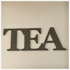 Tea Word Cafe Wooden Royal English Wall Art Country Unique Handmade Be – The Renmy Store