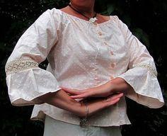 Блузки ручной работы. Блуза-бохо