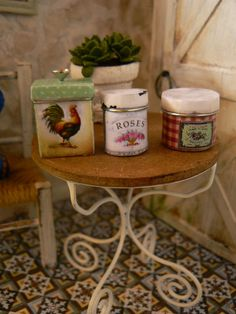 Image detail for -jars dollhouse kitchen from miniedentienda