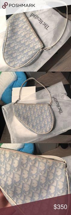 e8cb04448240f Authentic Dior Saddle bag dior monogram mini bag 100% authentic Dior  monogram saddle bag💙
