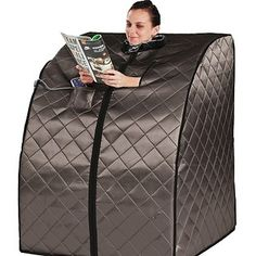 A handy portable sauna, because you deserve it.
