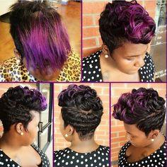 Loveeeee! - http://www.blackhairinformation.com/community/hairstyle-gallery/relaxed-hairstyles/loveeeee/ #relaxedhairstyles