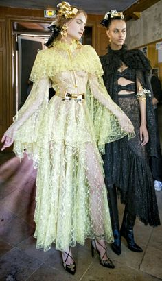 Rodarte Spring 2018 Fashion Show Fashion 2020, High Fashion, Fashion Show, Dress Outfits, Fashion Dresses, Dress Up, Fashion Details, Fashion Design, Spring Summer Trends
