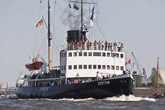Hamburg - Dampf-Eisbrecher STETTIN