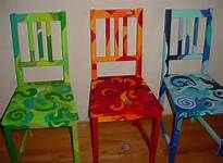 Whimsical Funky Painted Furniture
