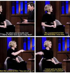 Jennifer Lawrence everybody! One of the best actresses out there. I love how she's so normal and herself all the time.