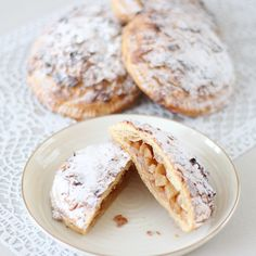 Fruit Tart Recipe No Bake Ideas in 2019 Puff Pastry Recipes, Tart Recipes, Apple Recipes, Sweet Recipes, Baking Recipes, Cookie Recipes, Snack Recipes, Fruit Cake Cookies Recipe, Sweets Cake