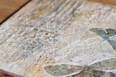 homescraphome: Encaustic znaczy... enkaustyczne Encaustic Art, How To Dry Basil, Herbs, Herb