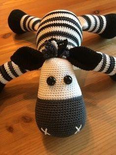 Häkelanleitung Spieluhr Zebra